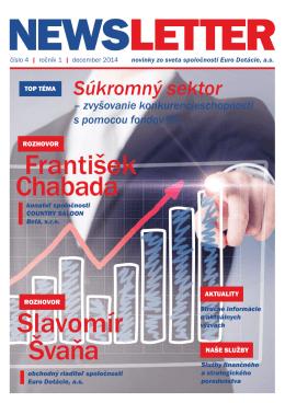 Newsletter - EuroDotácie číslo 04, december 2014