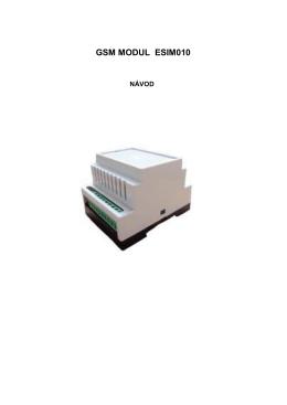 gsm modul esim010
