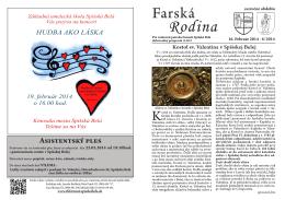 2014_08 Farska_rodina - Rímskokatolícka farnosť Spišská Belá