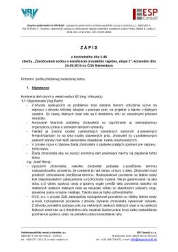 ORAVA_II_Zapis KD č 46