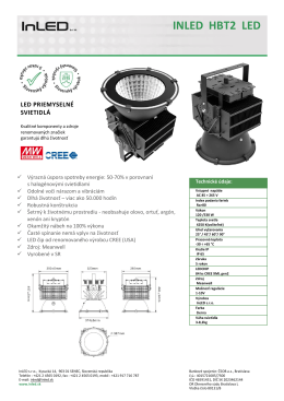 INLED HBT2 LED