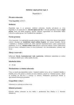 Infekčný zápal pečene typu A (pdf, 32 kB)