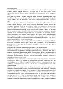 Larválna toxokaróza Larválna toxokaróza je označenie