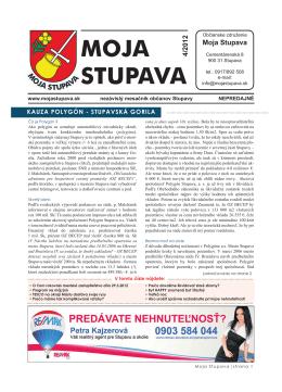 4/2012 - Moja Stupava