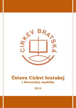 Ústava Cirkvi bratskej 2013 - PDF