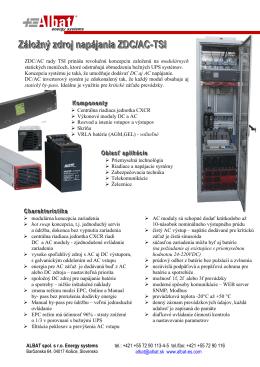katalogovy list ZDC-AC-TSI
