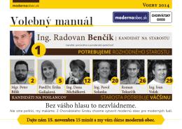 Volebný manuál - modernaobec.sk