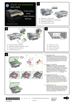 HP Deskjet 4615/4625 Setup Poster – XLWW