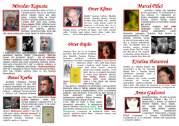 Miroslav Kapusta Pavol Korba Peter Klinec Peter Papšo Marcel