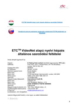 VUP - Všeobecné zmluvné podmienky - E
