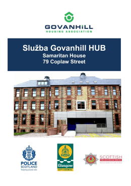 Služba Govanhill HUB - GovanHill Housing Association