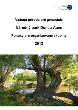 Národný park Donau-Auen 2013