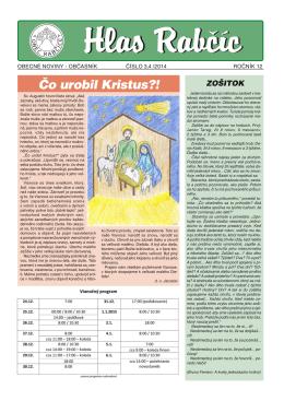 Obecné noviny 3,4/2014