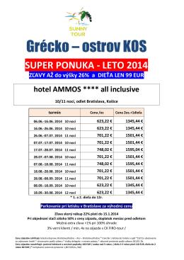 Grécko – ostrov KOS