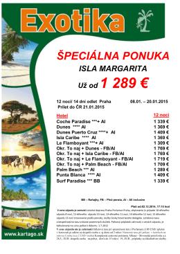 Už od 1 289 €