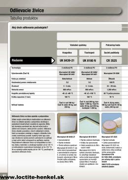 Zobraziť PDF - Loctite