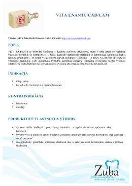 VITA ENAMIC CAD/CAM