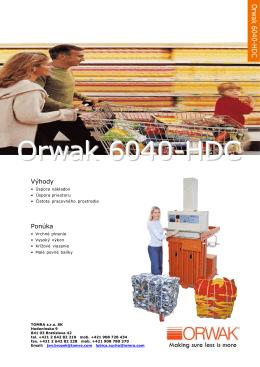 Orwak 6040-HDC