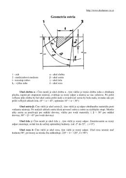 Geometria ostria