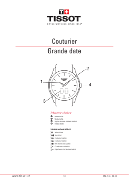 152 - Couturier Grand Date