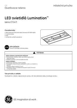 LED svietidlá Lumination™