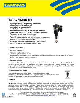 TOTAL FILTER TF1