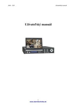 manual DVR