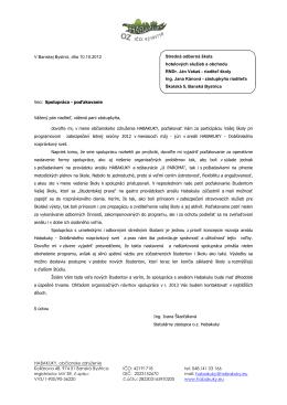 HABAKUKY, občianske združenie V Banskej Bystrici, dňa 10.10