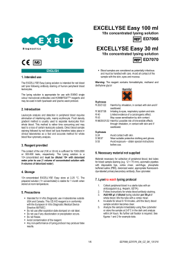 EXCELLYSE Easy 100 ml EXCELLYSE Easy 30 ml
