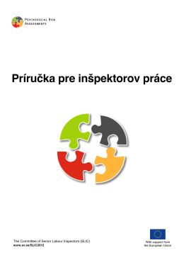 SLIC 2012, Príručka pre inšpektorov práce, Slovak, Slovakien