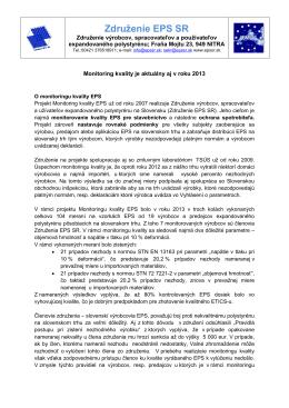 Monitoring kvality 2014