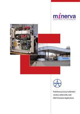Podnikové procesy tradičného výrobcu elektroniky riadi