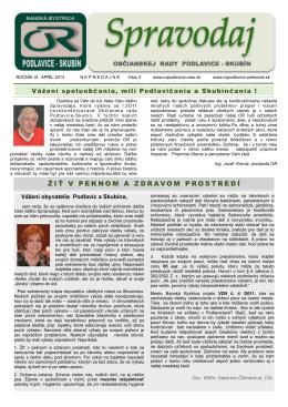 Spravodaj 3. vydanie na stiahnutie v PDF