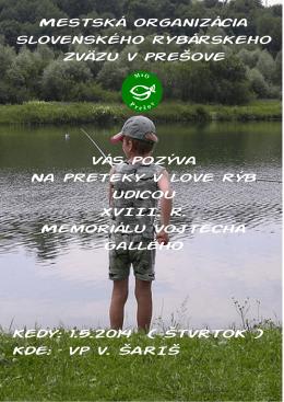 01.05.2014 - Štrkovisko ŠARIŠ - preteky detí a mládež