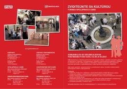 spolupraca (.pdf verzia) - Galéria mesta Bratislavy