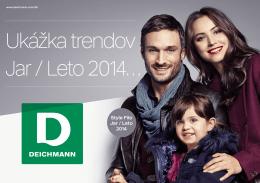 Ukážka trendov Jar / Leto 2014…