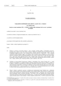 (EÚ) č. 1150/ 2014