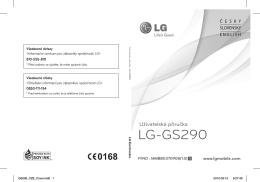 LG-GS290 - uMobil.cz