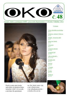 Ponúkame vám časopis OKO č.48