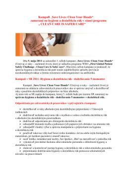(Umývaj si ruky - zachrániš život)(pdf, 106 kB)