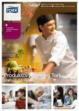 Produktový katalóg Tork