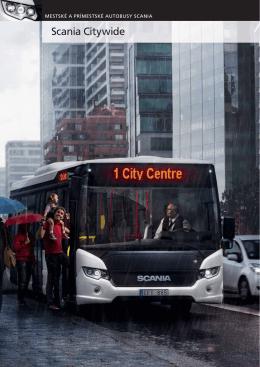Mestské a prímestské autobusy Scania