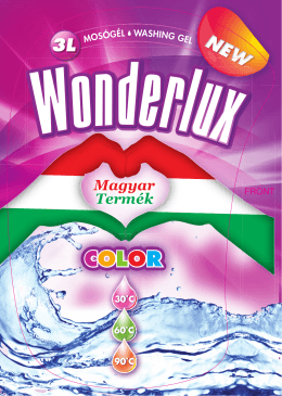 Wonderlux COLOR - Gajdácsi és Társa Kft.