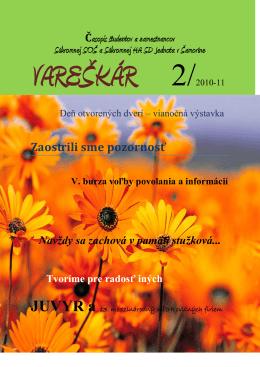 číslo 2/2011 - hasossamorin.edu.sk