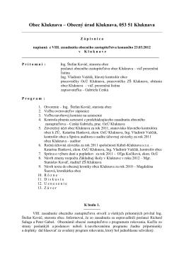 Zápisnica OZ - 23.03.2012