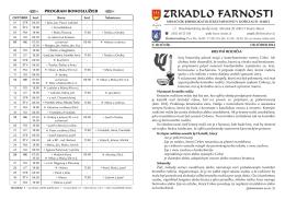ZRKADLO farnosti -október - Rímskokatolícka farnosť Košice