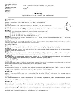 Príklady - Fyzika | labster.eu