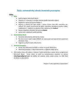 zadanie 6. úlohy