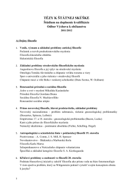 štátna skúška na doplnenie kvalifikácie