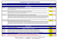 Ceny edícií TDCs :tu na stiahnutie v pdf